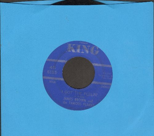 Brown, James & The Famous Flames - I Got The Feelin'/If I Ruled The World - EX8/ - 45 rpm Records