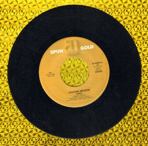 Browne, Jackson - Stay/Here Come Those Tears Again (re-issue) - EX8/ - 45 rpm Records