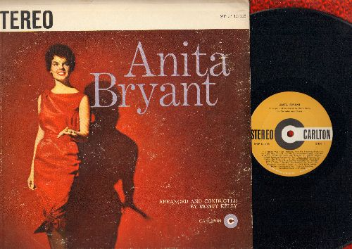 Bryant, Anita - Anita Bryant: Till There Was You, Small World, Wouldn't It Be Loverly, The Party's Over (vinyl STEREO LP record) - NM9/VG6 - LP Records