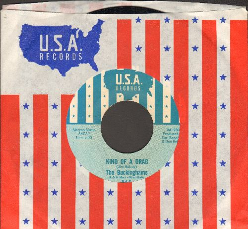 Buckinghams - Kind Of A Drag/You Make Me Feel So Good (NICE condition with RARE U.S.A. company sleeve!) - NM9/ - 45 rpm Records