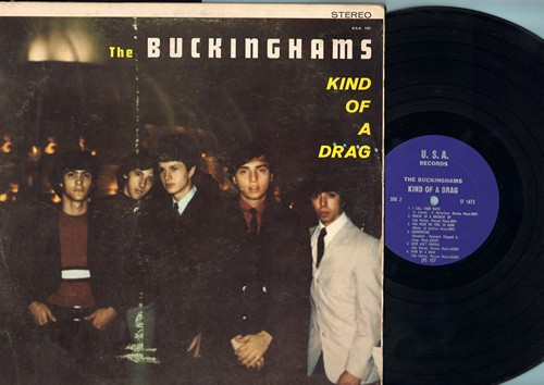 Buckinghams - Kind Of A Drag: I'll Go Crazy, I've Been Wrong, I Call Your Name, Summertime (vinyl LP record, RARE STEREO Pressing!) - NM9/VG7 - LP Records