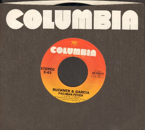 Buckner & Garcia - Pac-Man Fever/Pac-Man Fever (Instrumental) (with Columbia company sleeve) - NM9/ - 45 rpm Records