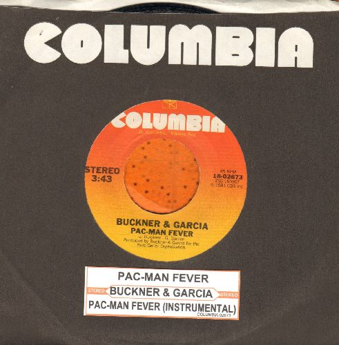 Buckner & Garcia - Pac-Man Fever/Pac-Man Fever (Instrumental) (MINT condition with juke box label and Columbia company sleeve) - M10/ - 45 rpm Records