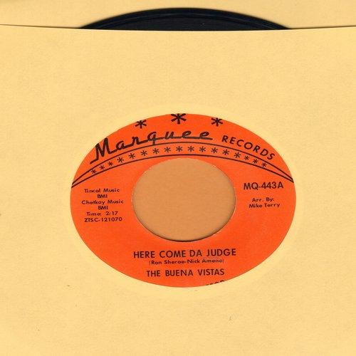 Buena Vistas - Here Come Da Judge/Big Red (wol) - VG7/ - 45 rpm Records