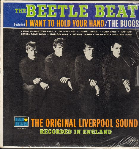 Buggs - Beetle Beat: Original Liverpool Sound! I Want To Hold Your Hand, She Loves You, Big Ben Hop, East End, Soho Mash, Teddy Boy Stomp (vinyl LP record, SEALED, never opened!) - SEALED/SEALED - LP Records