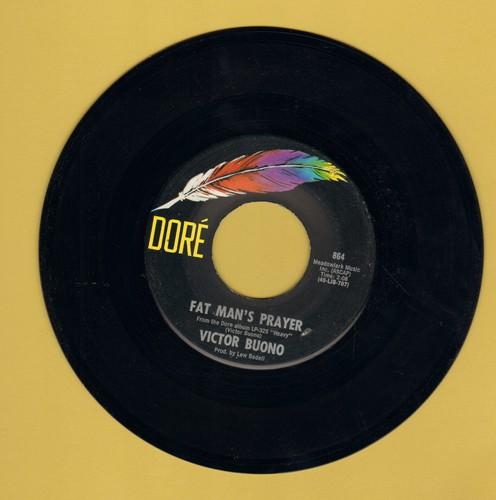 Buono, Victor - Fat Man's Prayer/Bless Me Doctor  - EX8/ - 45 rpm Records