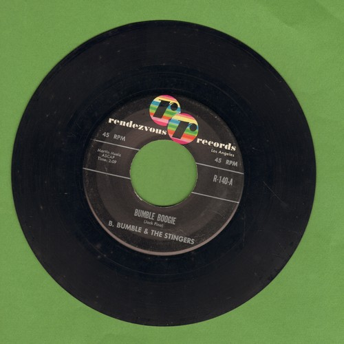 Bumble, B. & The Stingers - Bumble Boogie/School Day Blues - VG7/ - 45 rpm Records