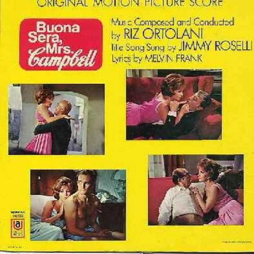 Buena Sera, Mrs. Campbell - Buena Sera, Mrs. Campbell - Original Motion Picture Sound Track - Music composed and conducted by Riz Ortolani, Title Song sung by Jimmy Roselli (vinyl STEREO LP record) - EX8/EX8 - LP Records