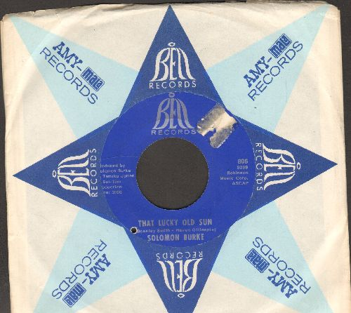 Burke, Solomon - That Lucky Old Sun/How Big A Fool (Can A Fool Be) (with Bell company sleeve, bb) - VG7/ - 45 rpm Records