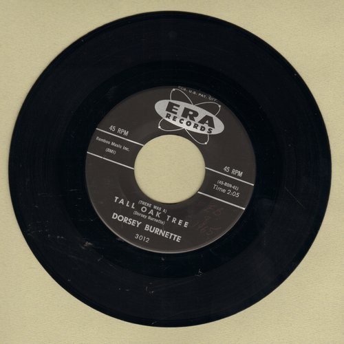 Burnette, Dorsey - Tall Oak Tree/Juarez Town - M10/ - 45 rpm Records