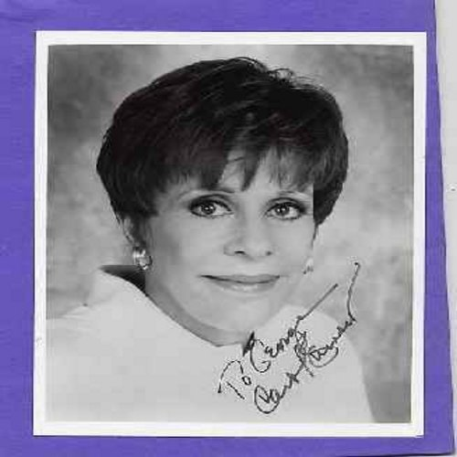 Burnett, Carol - 8 X 10 b&w picture, Personally autographed by Carol Burnett -to George Carol Burnett- One of American Television's Grande Dames! A Collector's Item! (counts same as 45rpm for shipping) - NM9/ - Autographs