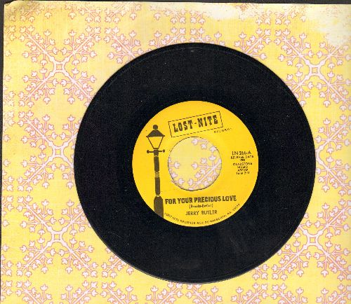 Butler, Jerry - For Your Precious Love/Sweet Was The Wine (early double-hit re-issue) - EX8/ - 45 rpm Records