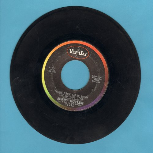 Butler, Jerry - You Go Right Through Me/Theme From Taras Bulba The Wishing Star - EX8/ - 45 rpm Records