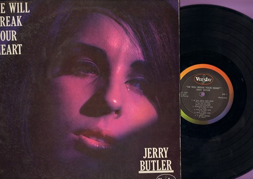 Butler, Jerry - He Will Break Your Heart: Thanks To You, Butterfly, I Found A Love, A Lonely Soldier (vinyl MONO LP record) - NM9/EX8 - LP Records