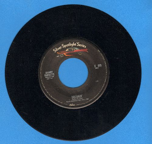 Burnette, Johnny - Dreamin'/Little Boy Sad (re-issue) - EX8/ - 45 rpm Records