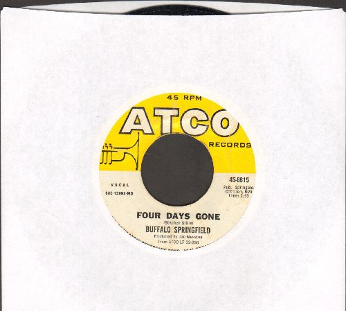 Buffalo Springfield - On The Way Home/Four Days Gone - EX8/ - 45 rpm Records
