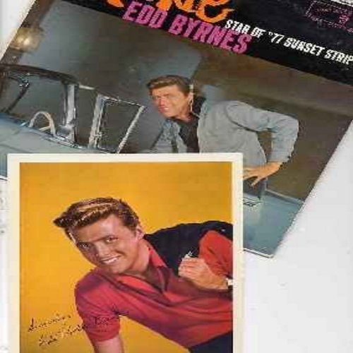 Byrnes, Edd Kookie - Kookie - Star of 77 Sunset Strip: Kookie's Mad Pad, The Kookie Cha Cha Cha, Like I Love You, You're The Top, Kookie Kookie (Lend Me Your Comb), Kookie's Clock (vinyl LP record with RARE 8X10 BONUS Autograph Picture!) - EX8/VG7 - LP Re