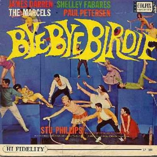 Darren, James, Shelley Fabares, The Marcels, Paul Petersen - Bye Bye Birdie: Put On A Happy Face, Rosie, Kids (Folks), One Last Kiss, One Girl, I Love You Conrad (vinyl MONO LP record) - EX8/EX8 - LP Records