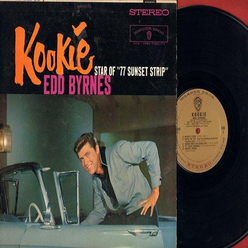 Byrnes, Edd Kookie - Kookie - Star of 77 Sunset Strip: Kookie's Mad Pad, The Kookie Cha Cha Cha, Like I Love You, You're The Top, Kookie Kookie (Lend Me Your Comb), Kookie's Clock (vinyl LP record, RARE STEREO Pressing!) - NM9/EX8 - LP Records