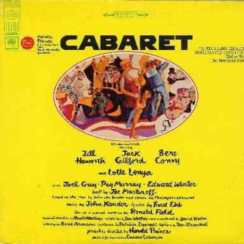 Haworth, Jill, Jack Gilford, Bert Convy, Lotte Lenya, Joel Grey - Cabaret: Original Broadway Cast Recording (vinyl LP record - SEALED, never opened!) - SEALED/SEALED - LP Records