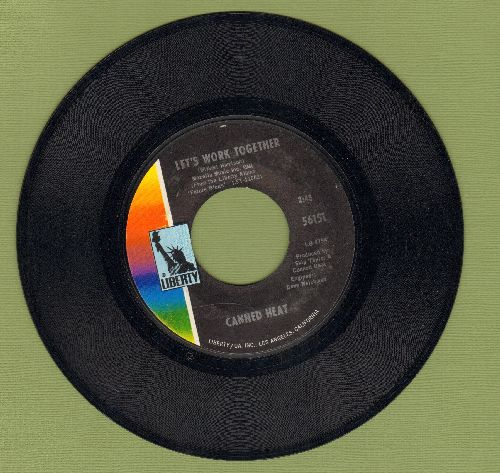 Canned Heat - Let's Work Together/I'm Her Man (MINT condition) - M10/ - 45 rpm Records