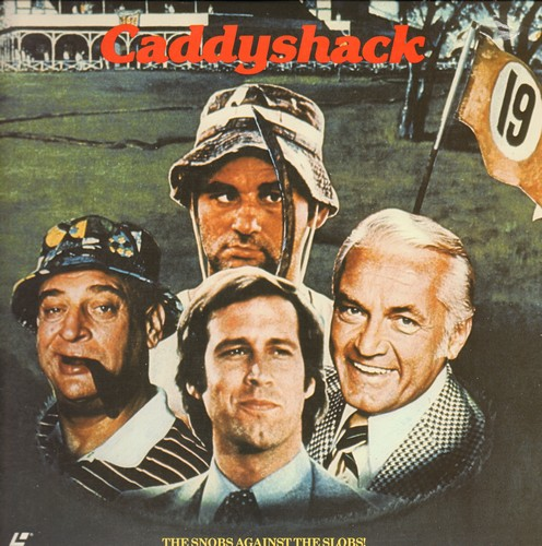 Caddyshack - Caddyshack - LASER DISC of the Comedy Cult Classic (This is a LASER DISC, not any other kind of media!) - NM9/EX8 - Laser Discs
