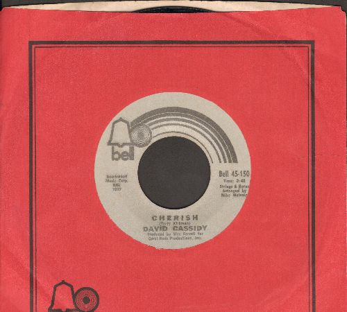 Cassidy, David - Cherish/All I Wanna Do Is Touch You (with Bell company sleeve) - EX8/ - 45 rpm Records