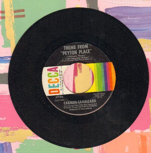 Cavallaro, Carmen - Theme From Peyton Place/Strange Bedfellows - NM9/ - 45 rpm Records
