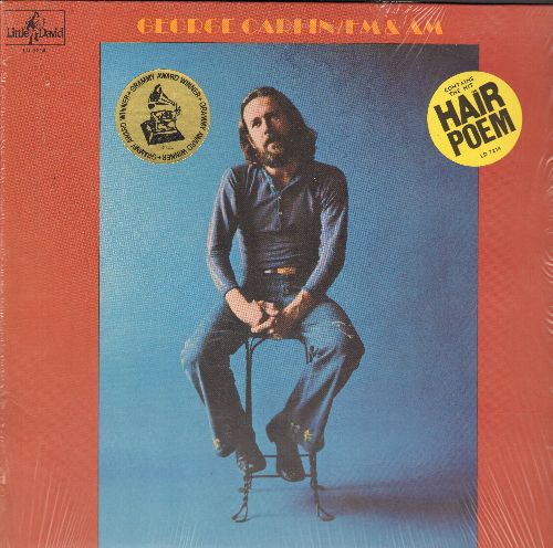 Carlin, George - FM & AM: George Carlin talks about drugs, hair pieces and divorce. Hilarious! (NICE condition, with shrink wrap) - M10/NM9 - LP Records