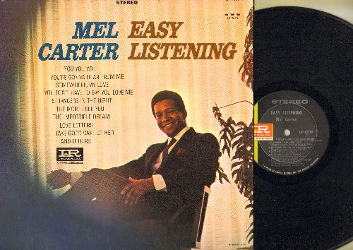 Carter, Mel - Easy Listening: You You You, Somewhere My Love, Strangers In The Night, The Impossible Dream, Love Letters (vinyl STEREO LP record) - NM9/NM9 - LP Records