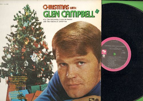 Campbell, Glen - There's No Place Like Home, Silent Night, It Must Be Getting Close To Christmas, The First Noel (vinyl STEREO LP record) - EX8/NM9 - LP Records