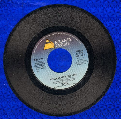 Cameo - Attack Me With Your Love/Love You Anyway - NM9/ - 45 rpm Records
