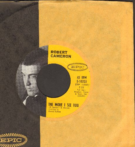 Cameron, Robert - The More I See You/It Might As Well Be Spring (with Epic company sleeve) - NM9/ - 45 rpm Records
