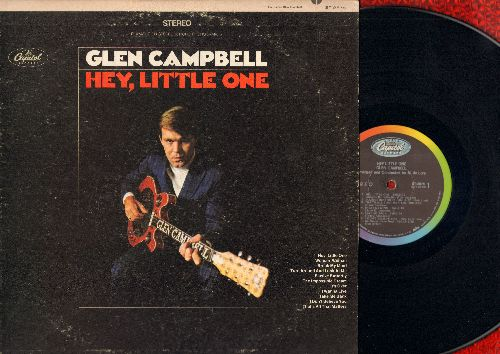 Campbell, Glen - Hey, Little One: Elusive Butterfly, The Impossible Dream, It's Over, Take Me Back (vinyl STEREO LP record) - EX8/VG7 - LP Records