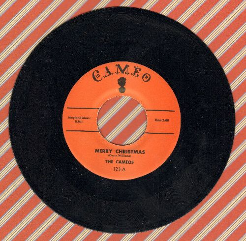 Cameos - Merry Christmas/New Year's Eve (authentic-looking re-issue) - M10/ - 45 rpm Records