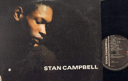 Campbell, Stan - Stan Campbell: Years Go By, Dancing Troupe, Little More Faith, Strange Fruit, You'll Never Know (vinyl LP record) - NM9/EX8 - LP Records