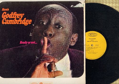 Cambridge, Godfrey - Ready Or Not… Debut LP by the legendary comedian, 1964 first pressing (vinyl MONO LP record)(sol) - NM9/EX8 - LP Records