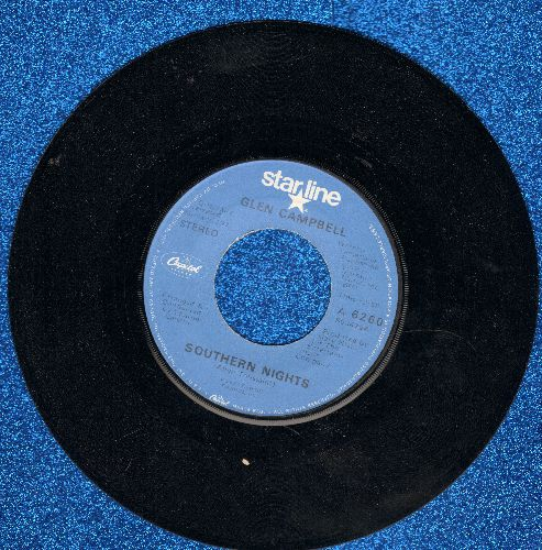 Campbell, Glen - Southern Nights/Sunflower (double-hit re-issue) - NM9/ - 45 rpm Records