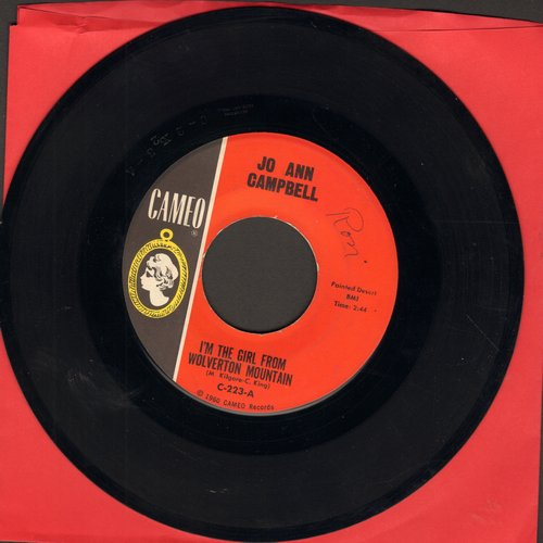 Campbell, Jo Ann - I'm The Girl From Wolverton Mountain/Sloppy Joe (wol) (with juke box label) - EX8/ - 45 rpm Records