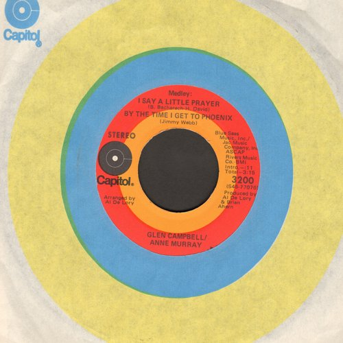 Campbell, Glen - Daisy A Day/I Don't Want To Know Your Name - NM9/ - 45 rpm Records