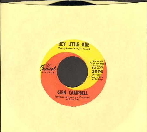 Campbell, Glen - Hey Little One/My Baby's Gone - EX8/ - 45 rpm Records