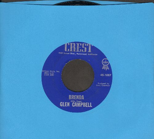 Campbell, Glen - Brenda/Turn Around Look At Me - VG7/ - 45 rpm Records