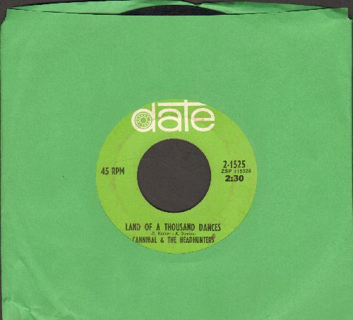 Cannibal & The Headhunters - Land Of 1000 Dances/Love Bird - EX8/ - 45 rpm Records