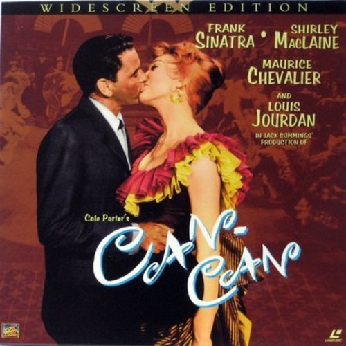 Can-Can - Can Can - Widescreen Edition Laser Disc set of the Classic Cole Porter Musical starring Frank Sinatra and Shirley MacLaine  (This is a set of 2 LASER DISCS, NOT ANY OTHER KIND OF MEDIA!) - NM9/EX8 - Laser Discs