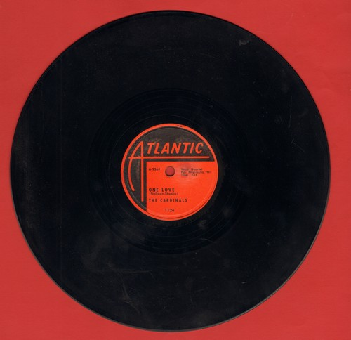 Cardinals - Near You/One Love (RARE 10 inch 78rpm record) - EX8/ - 78 rpm