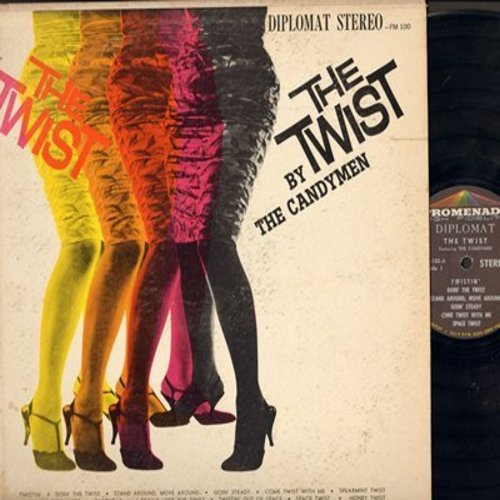 Candymen - The Twist: Space Twist, Spearmint Twist, Honey Twist, Twistin, I Really Love The Twist (vinyl STEREO LP record) - EX8/VG7 - LP Records
