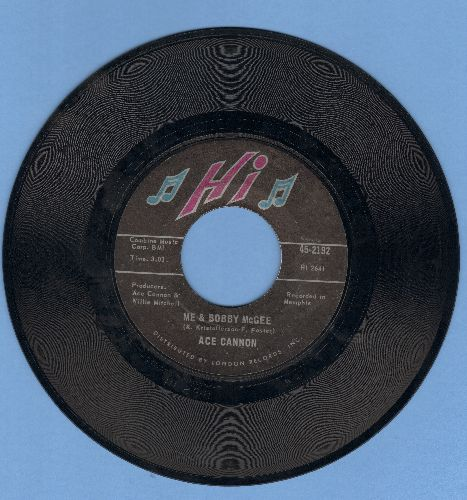 Cannon, Ace - Me & Bobby McGee/Sweet Caroline - EX8/ - 45 rpm Records