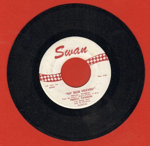 Cannon, Freddy - Humdinger/My Blue Heaven - NM9/ - 45 rpm Records