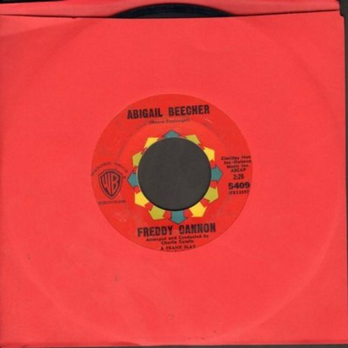Cannon, Freddy - Abigail Beecher/All American Girl - NM9/ - 45 rpm Records
