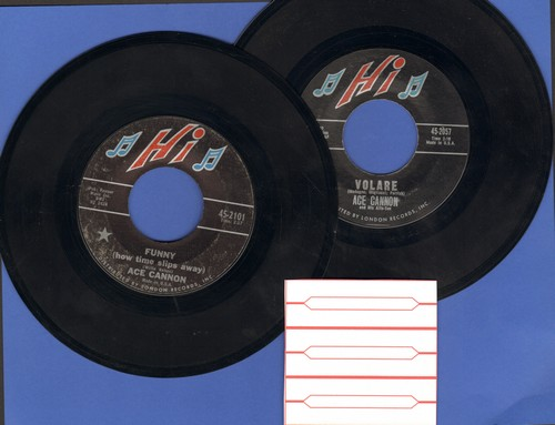 Cannon, Ace - 2 for 1 Special: Volare/Funny How Time Slips Away (2 vintage first issue 45rpm records for the price of 1! Shipped in plain white paper sleeves with 3 blank juke box labels) - NM9/ - 45 rpm Records
